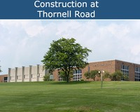 Construction at Thornell Road